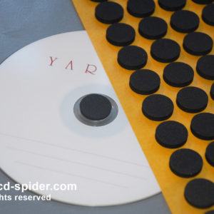 Back Adhesive Foam DVD Holder
