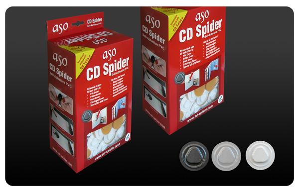 DVD Spider, DVD hub, DVD foam button, DVD fixer