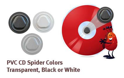 cd spider pvc, cd hub, dvd hub, cd-dvd button