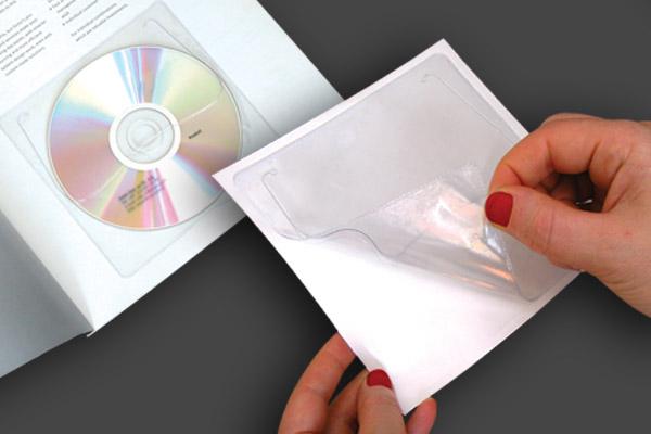 Adhesive CD sleeves